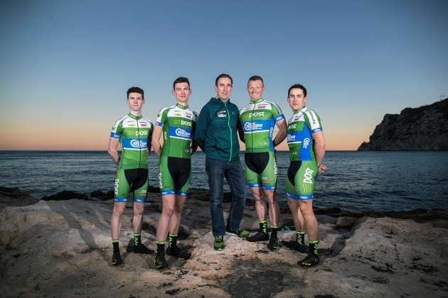 Matthew Teggart, Sean McKenna, Sean Kelly, Damien Shaw and Conor Hennebry