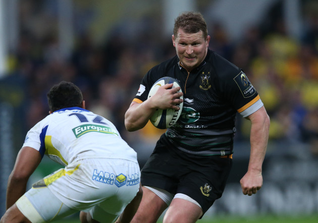Northampton's Dylan Hartley