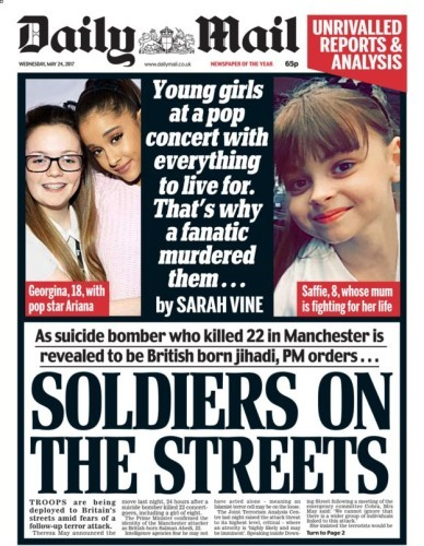 daily mail manchester