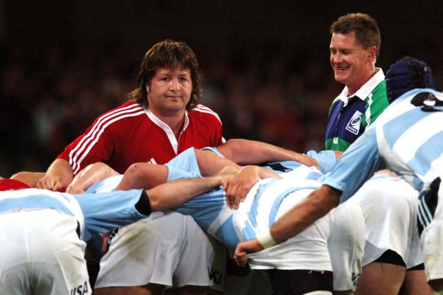 Rugby Union - British & Irish Lions v Argentina - Millennium Stadium
