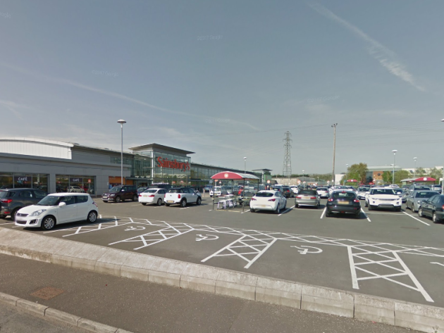 Man shot and wounded in Northern Ireland supermarket vehicle  park