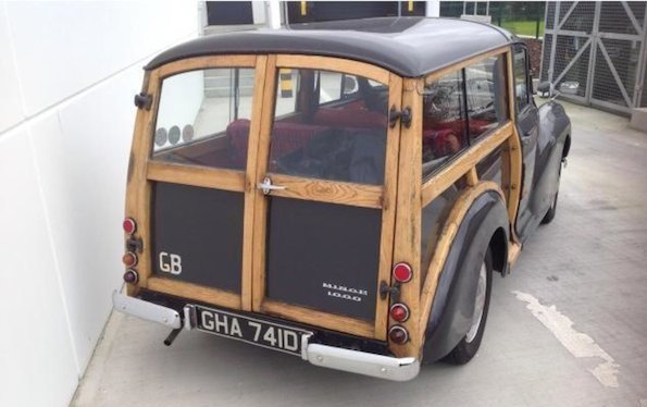 The Morris Minor \'Woody Wagon\' is a design icon that was built to last
