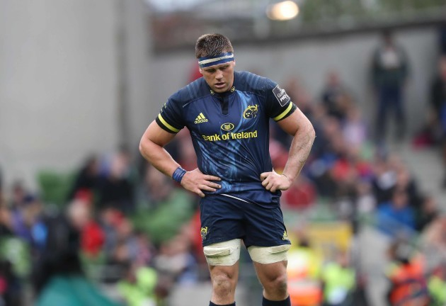Munster's CJ Stander dejected