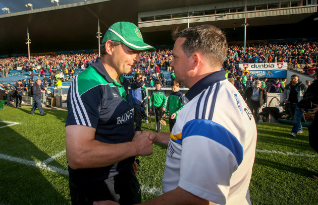 Davy Fitzgerald with TJ Ryan