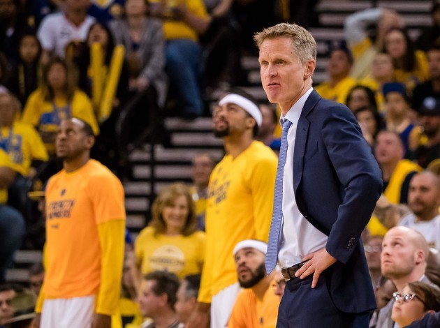 NBA: Playoffs-Portland Trail Blazers at Golden State Warriors