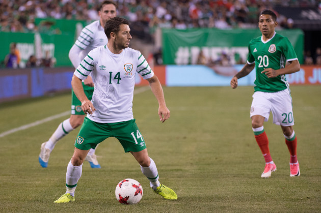 Soccer 2017 - Mexico defeats Republic of Ireland 3 to 1