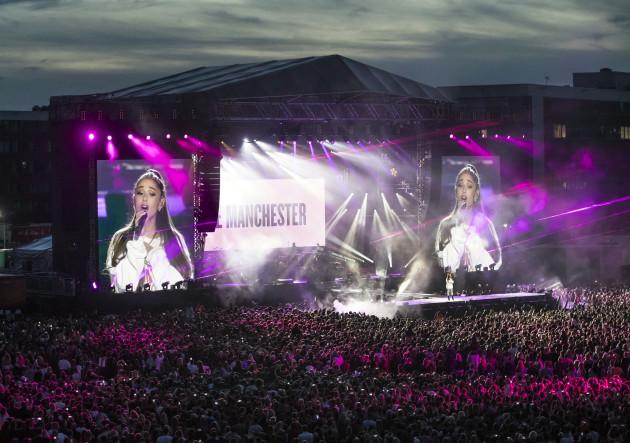 Manchester attack benefit concert
