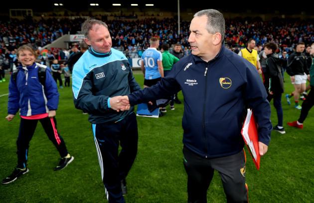 Jim Gavin and Turlough O'Brien