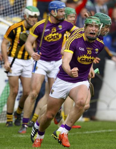 Conor McDonald celebrates scoring his sides second goal