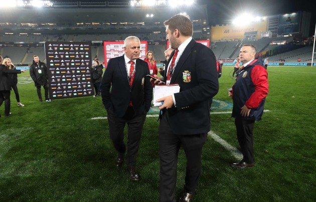 Warren Gatland puts on fearless face as British and Irish Lions flounder