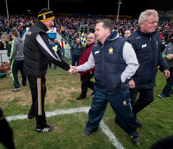 Brian Cody and Davy Fitzgerald