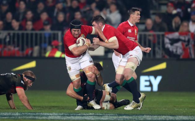 British and Irish Lions Sean O'Brien and Peter O'Mahony