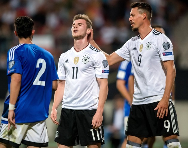 Germany's Loew bemused by Werner jeers