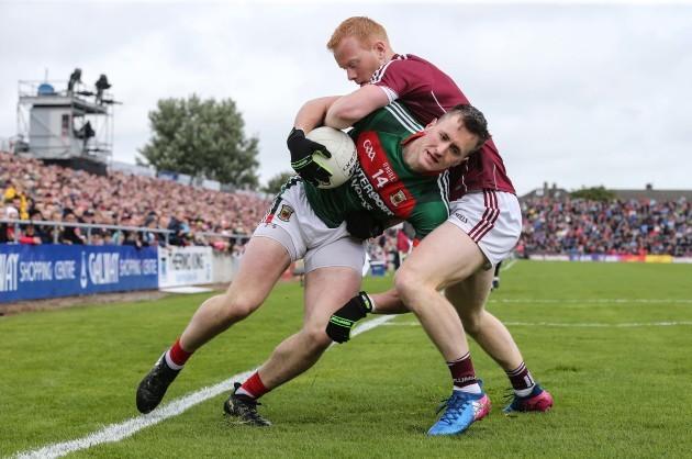 Declan Kyne and Cillian O'Connor