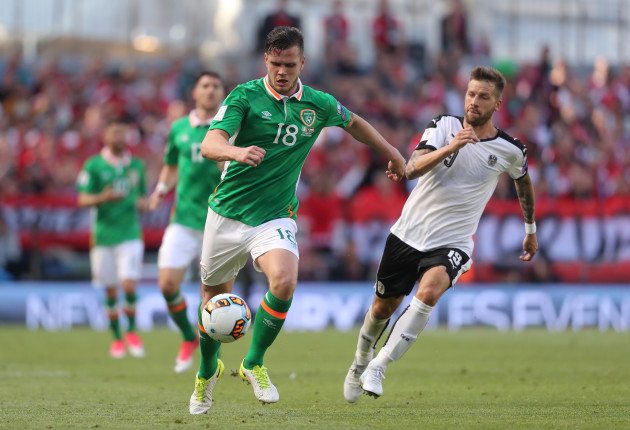 Republic of Ireland v Austria - 2018 FIFA World Cup Qualifying - Group D - Aviva Stadium