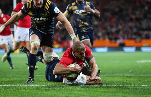 British and Irish Lions suffer second tour defeat to Highlanders in Dunedin