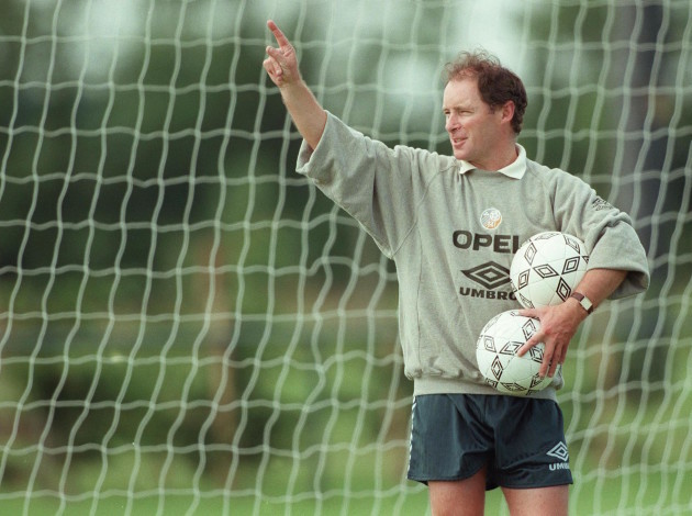 Brian Kerr, manager. 1/7/1997