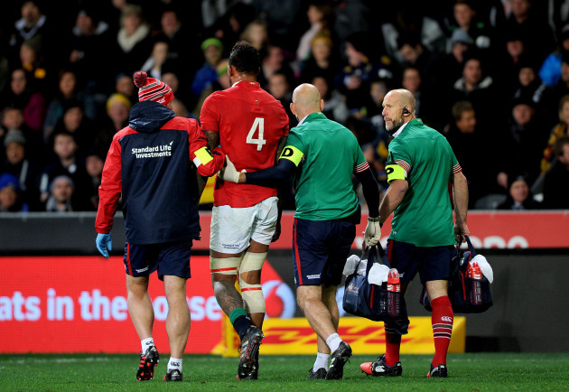 Injury ends Hogg's Lions tour