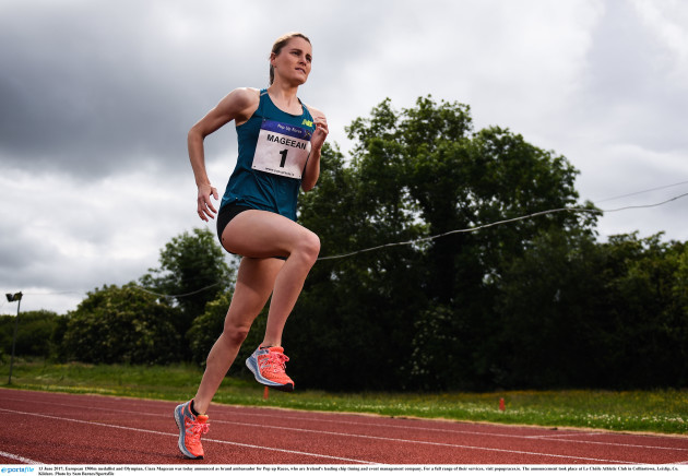 Pop up Races and Ciara Mageean Sponsorship Announcement