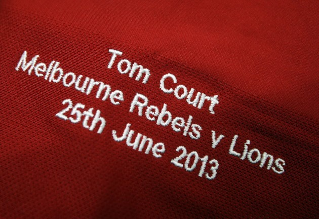 General view of Tom Courts Jersey