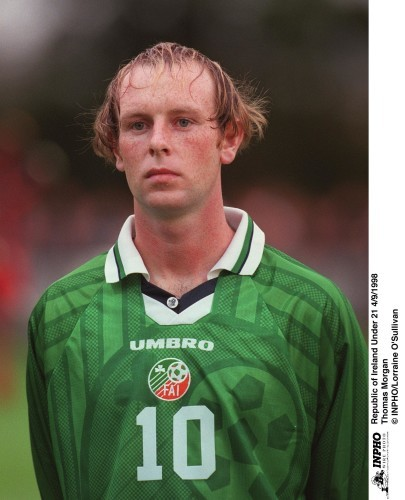 Thomas Morgan Republic of Ireland Under 21 4/9/1998