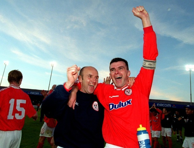 Paul Doolin and Pat Scully 19/7/2000