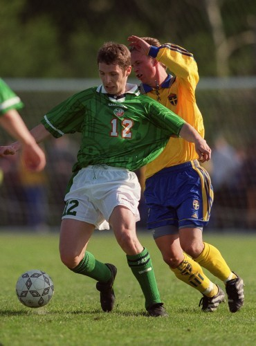Michael Cummins Republic of Ireland Under-21 27/4/1999