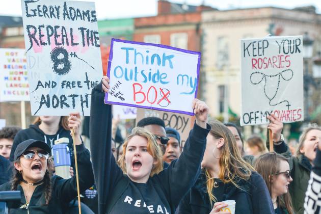 Ireland: Ireland: Thousands Strike 4 Repeal in Dublin