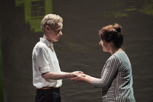 3. Noelle Brown and Bríd Ní Neachtain in POSTSCRIPT at the Abbey Theatre - Photo Ros Kavanagh