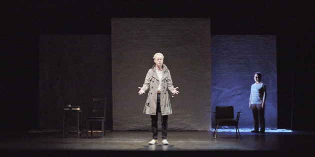 4. Noelle Brown and Bríd Ní Neachtain in POSTSCRIPT at the Abbey Theatre - Photo Ros Kavanagh