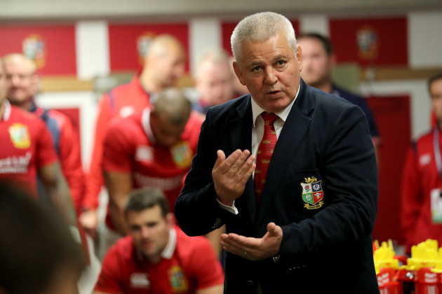 Gatland confident Farrell will be fit for first All Blacks test