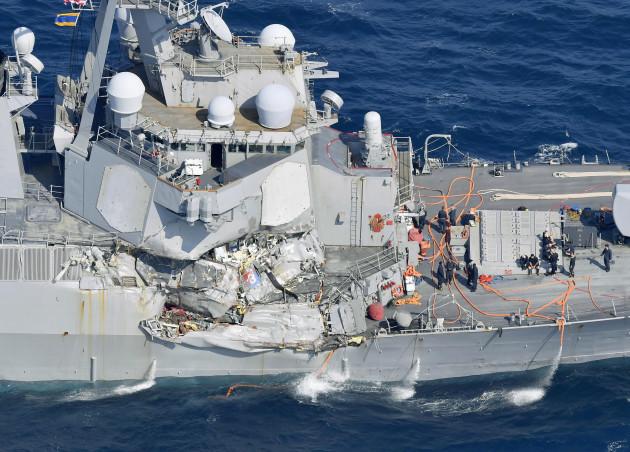 Japan US Navy Collision