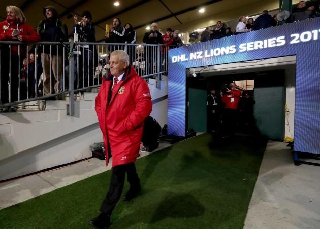 Gatland says Hansen 'worried' as Lions loom