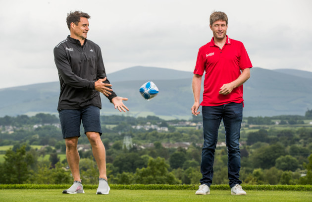 Dan Carter and Ronan O'Gara