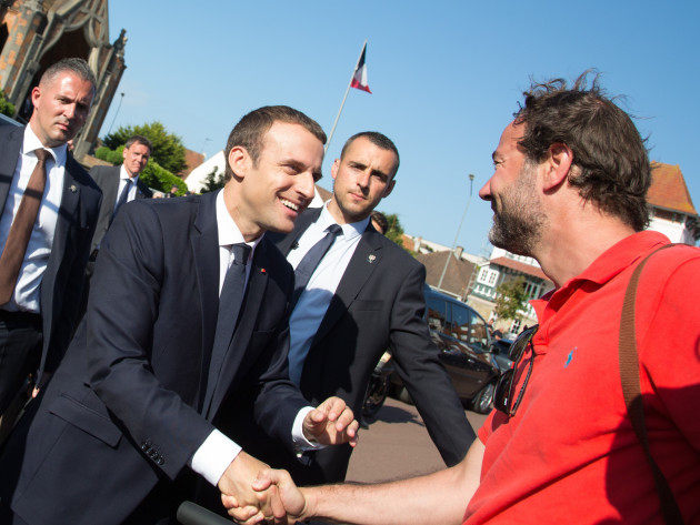 FRANCE-LE TOUQUET-LEGISLATIVE ELECTIONS-SECOND ROUND-MACRON