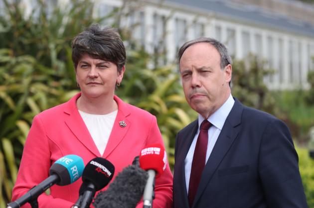 DUP to 'support soft Irish border' in Brexit talks