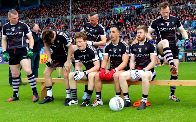 Sligo take to the bench