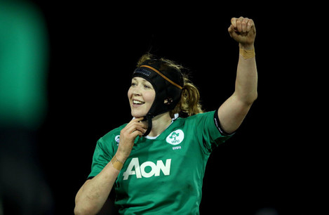 Marie Louise Reilly celebrates