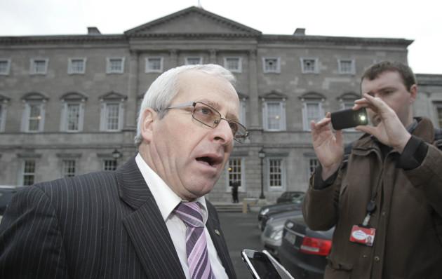 Irish political upheaval