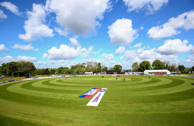 A general view of Malahide Cricket Club
