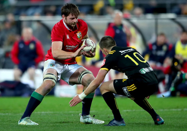 Iain Henderson and Otere Black