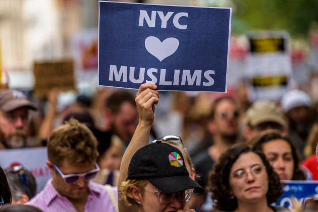 NY: Rally in Support of the Muslim Community