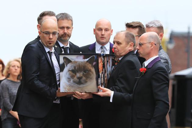 Martyn Hett funeral