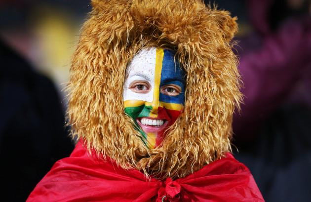 A Lions fan
