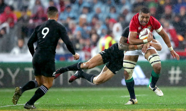 Sonny Bill Williams and Taulupe Faletau