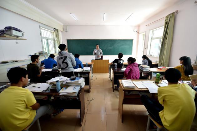 CHINA-SHANXI-LINFEN-RED RIBBON SCHOOL-GRADUATION CEREMONY (CN)