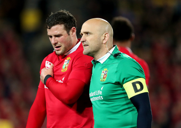 Migraines force Lions back Payne to miss decider against All Blacks