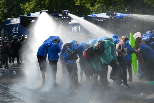 Germany G20 Protests