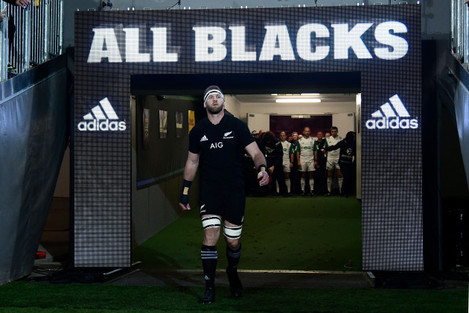 Kieran Read comes out for his 100th cap