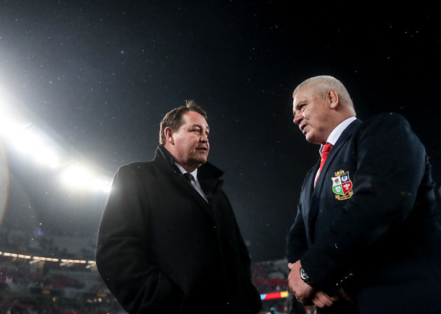 Steve Hansen and Warren Gatland